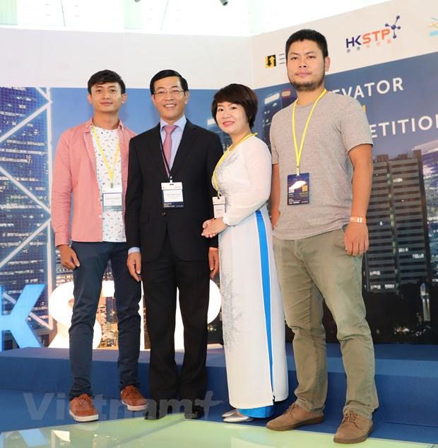 Thi sinh Viet Nam vao top 10 cuoc thi khoi nghiep quoc te Hong Kong hinh anh 2