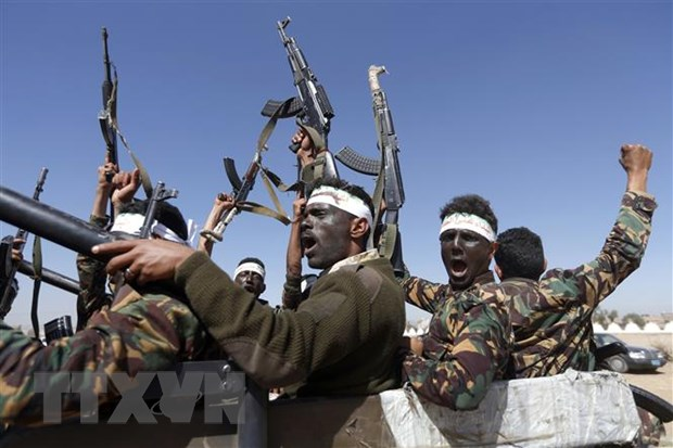 Yemen: Phai vien cua Lien hop quoc gap thu linh phien quan Houthi hinh anh 1