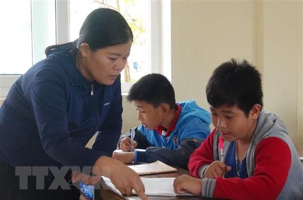Khoi to vu an hinh su vu co giao cho hoc sinh tat ban o Quang Binh hinh anh 1