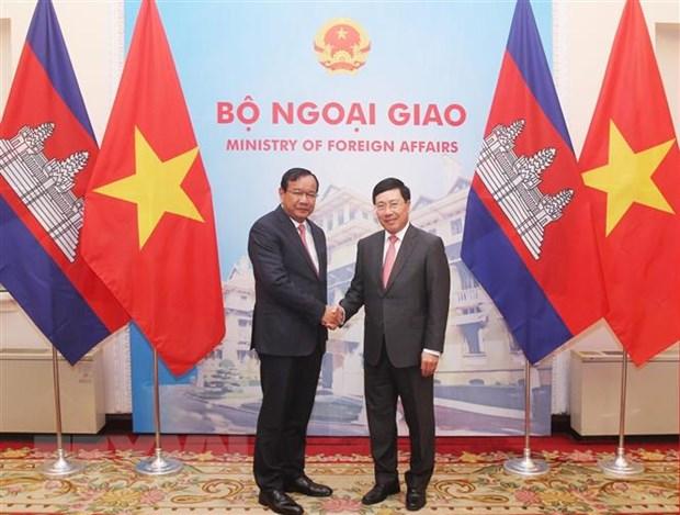 Viet Nam-Campuchia ung ho va phoi hop chat che trong nam 2020 hinh anh 1