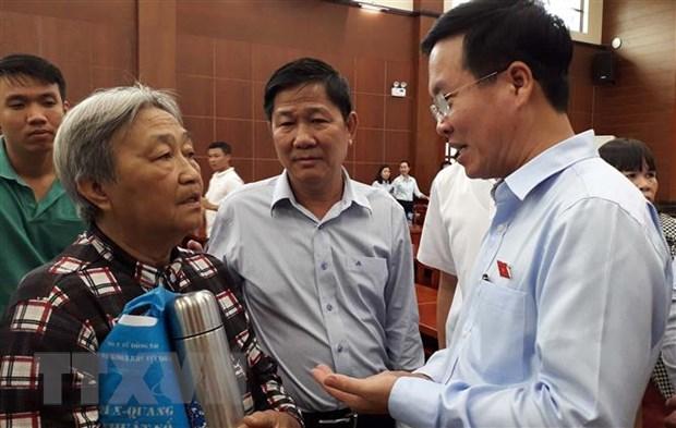 Truong ban Tuyen giao TW: Chinh quyen can tang cuong doi thoai voi dan hinh anh 1