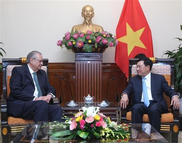 Pho Thu tuong Pham Binh Minh tiep Chu tich Nhom Tam nhin APEC hinh anh 1