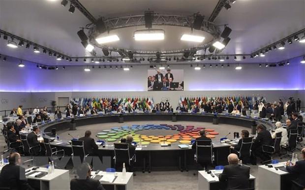 Hoi nghi Thuong dinh G20 dat duoc su dong thuan va ra tuyen bo chung hinh anh 1