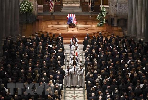 Dien chia buon ve viec cuu Tong thong George H.W. Bush qua doi hinh anh 1