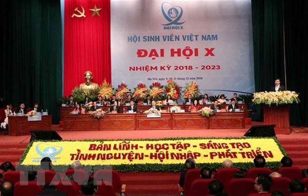 6 chu de trong tam cua cong tac Hoi Sinh vien Viet Nam nhiem ky moi hinh anh 1