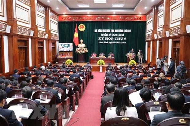 Ninh Binh lay phieu tin nhiem doi voi 27 nguoi do HDND bau hinh anh 1