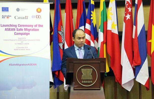 ASEAN tich cuc quan tam den quyen loi cua lao dong di cu hinh anh 1