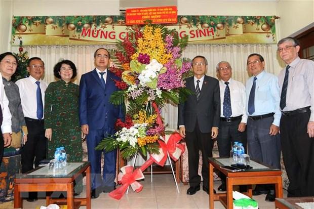 TP.HCM, An Giang chuc mung Giang sinh Hoi thanh Tin Lanh hinh anh 1