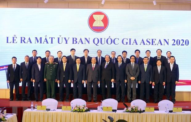 Le ra mat va Phien hop thu nhat cua Uy ban Quoc gia ASEAN 2020 hinh anh 1
