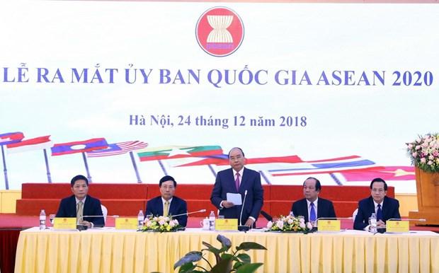 Le ra mat va Phien hop thu nhat cua Uy ban Quoc gia ASEAN 2020 hinh anh 2