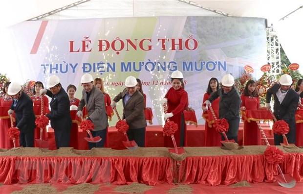 Dong tho Nha may thuy dien Muong Muon sau 10 nam chuan bi hinh anh 1