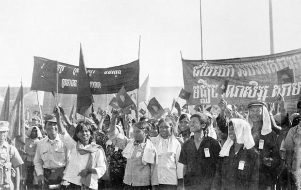 Dien mung Ban Chap hanh Trung uong Dang Nhan dan Campuchia hinh anh 1