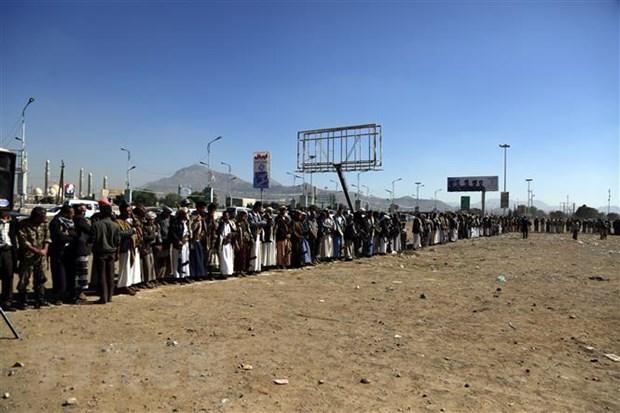 Yemen len an vu tan cong cua Houthi nham vao le dieu binh hinh anh 1
