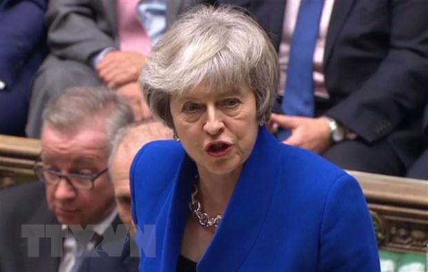 Thu tuong Theresa May tim tieng noi chung voi cac dang phai khac hinh anh 1