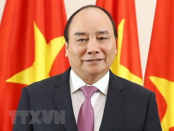 Thu tuong Nguyen Xuan Phuc len duong du WEF Davos 2019 hinh anh 1