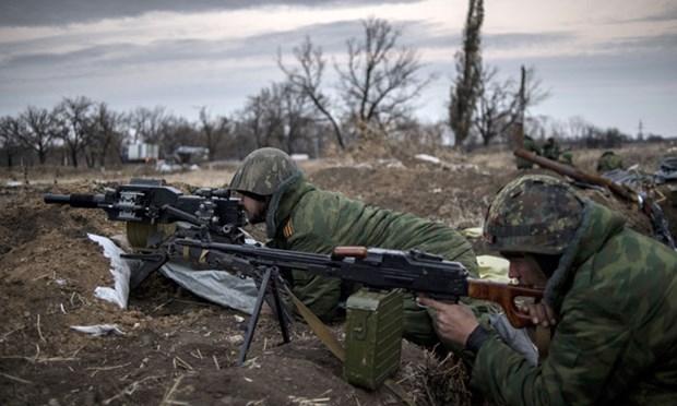 Quan doi Ukraine nang cap khu vuc trien khai luc luong o Donbass hinh anh 1