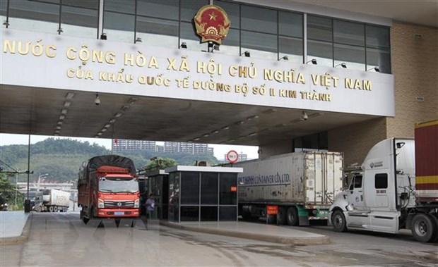 Tren 40.000 tan quang sat da duoc xuat qua cua khau Lao Cai hinh anh 1