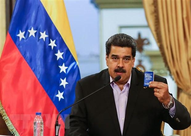 Tong thong Maduro cao buoc cac quan nhan dao ngu am muu dao chinh hinh anh 1