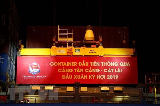 """Tan cang Sai Gon phan dau """"can dich"""" 5 trieu TEU hang container hinh anh 1"""