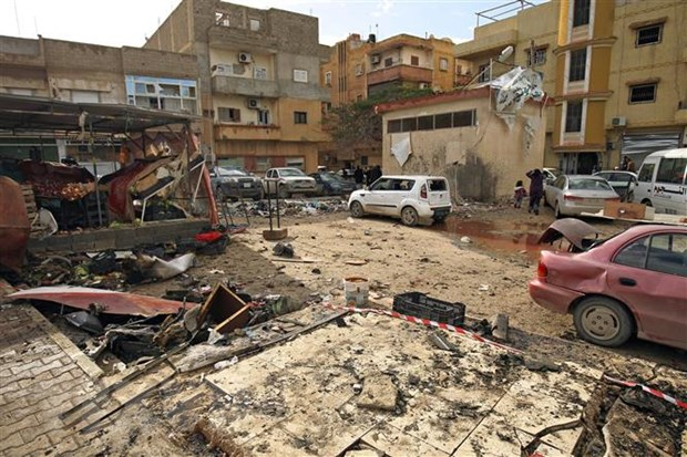 Libya: Quan doi mien Dong thiet lap vung cam bay o mien Nam hinh anh 1