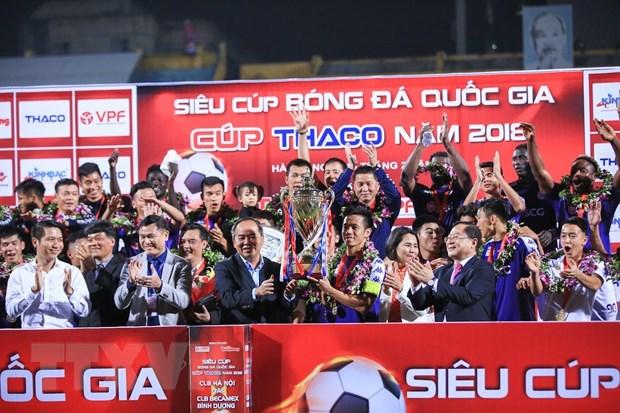 Kich tinh va hap dan tran Sieu Cup quoc gia dau Xuan Ky Hoi 2019 hinh anh 1
