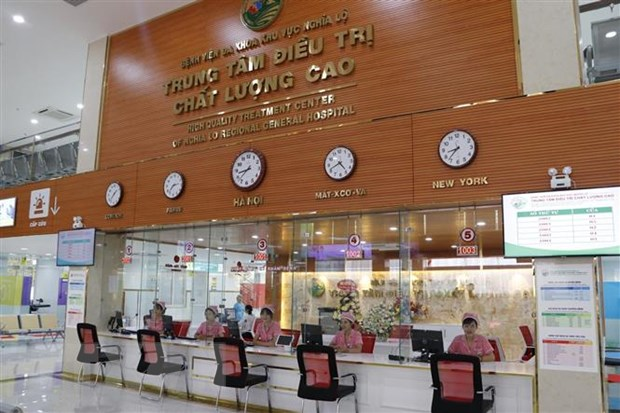 Dua vao su dung Trung tam dieu tri chat luong cao Tay Yen Bai hinh anh 1
