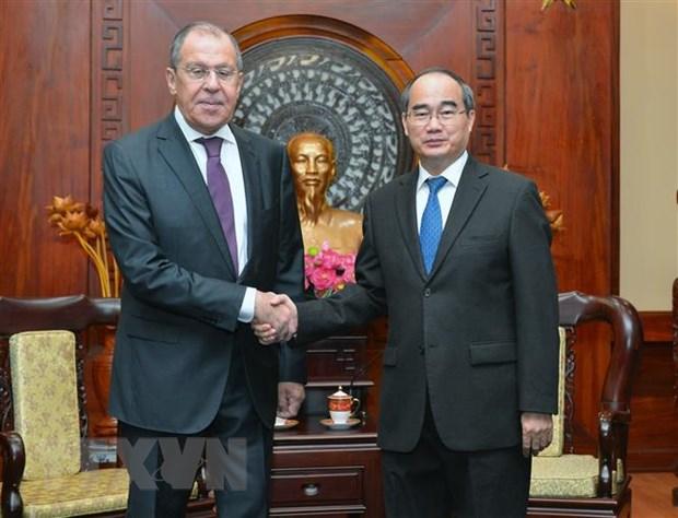 Thuc day quan he giua Thanh pho Ho Chi Minh va cac dia phuong cua Nga hinh anh 1
