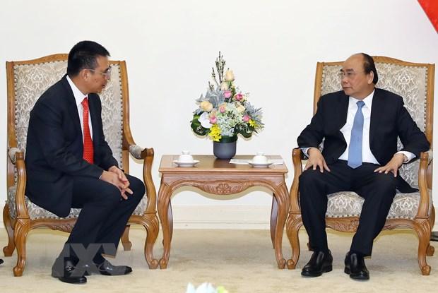 Thu tuong Nguyen Xuan Phuc tiep Chu tich Tap doan SCG hinh anh 1