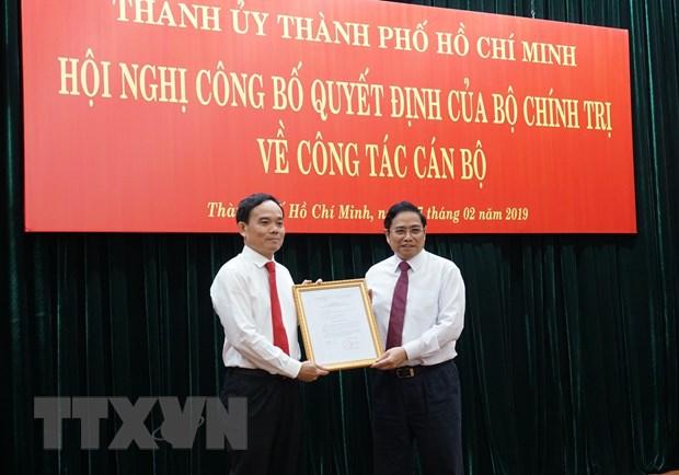 Ong Tran Luu Quang lam Pho Bi thu Thuong truc Thanh uy TP.HCM hinh anh 1