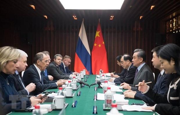 Nga, Trung Quoc cam ket tang cuong trao doi thong tin chien luoc hinh anh 1