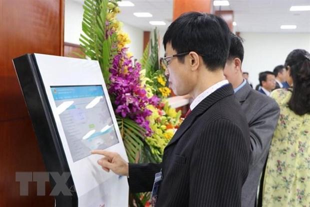 Dua vao hoat dong Trung tam Phuc vu hanh chinh cong tinh Hai Duong hinh anh 1