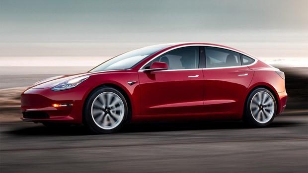 Tesla san sang mo ban truc tuyen toan cau dong xe dien Model 3 hinh anh 1