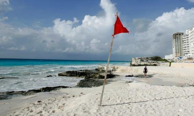 Xa sung tai khu nghi duong Cancun noi tieng cua Mexico hinh anh 1
