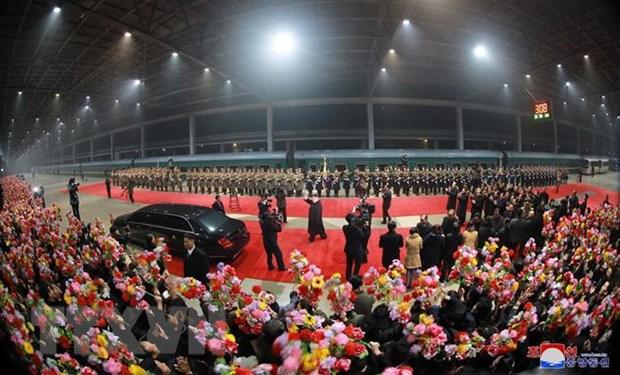 KCNA: Nha lanh dao Trieu Tien Kim Jong-un da tro ve Binh Nhuong hinh anh 1