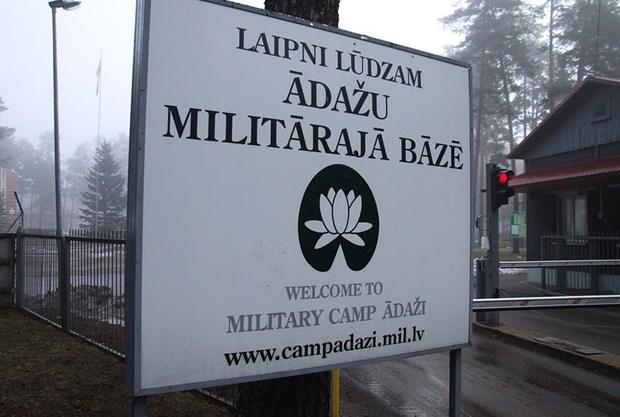 NATO khai truong tru so dau tien tai mot quoc gia Baltic hinh anh 1
