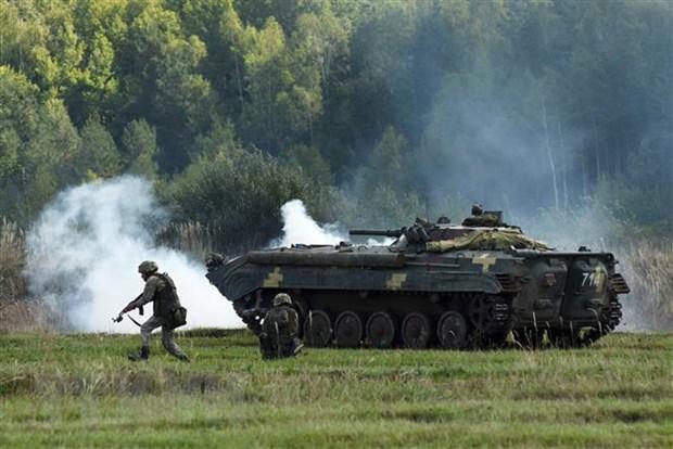 Ukraine: Bieu tinh bao dong khien hang chuc canh sat bi thuong hinh anh 1