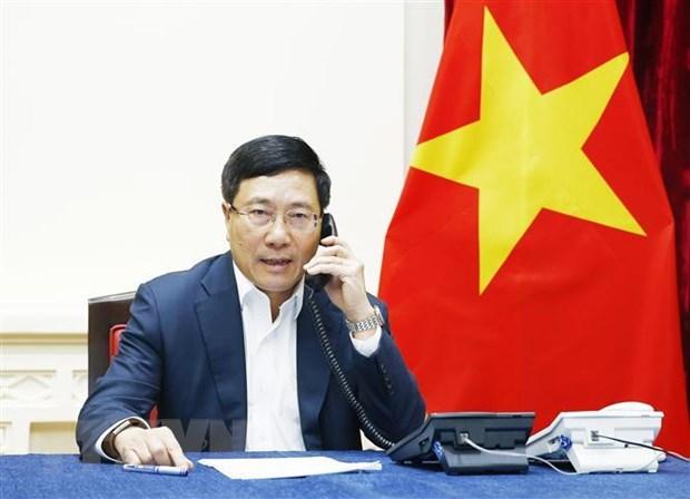 Bo truong Bo Ngoai giao dien dam ve cong dan Doan Thi Huong hinh anh 1