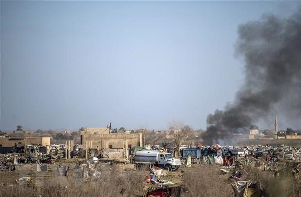 Syria: Nhieu dan thuong thiet mang sau cuoc khong kich cua lien quan hinh anh 1