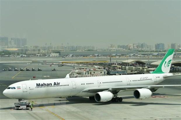 Mahan Air cua Iran huy cac chuyen bay toi Paris do lenh trung phat hinh anh 1
