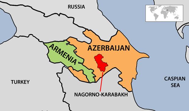 Na dan phao gay thiet hai o khu vuc tranh chap Nagorno-Karabakh hinh anh 1