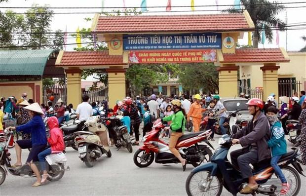 Thai Binh: Hang tram hoc sinh nghi hoc vi thong tin sai ve dich benh hinh anh 1