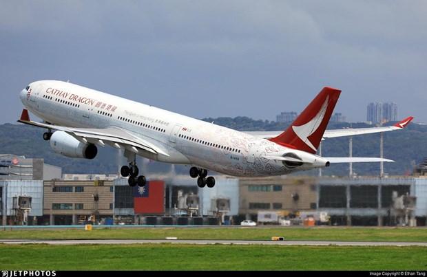 Mot may bay Airbus A330 phai ha canh khan cap tai Dai Loan hinh anh 1