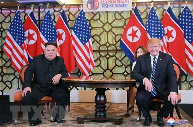 Sach tham khao dac biet: Duoc-mat tu cuoc gap Trump-Kim tai Ha Noi hinh anh 1