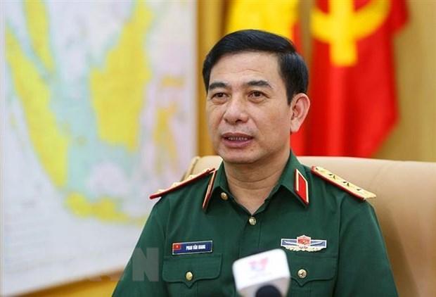 Doan Dai bieu Quan doi Nhan dan Viet Nam tham du MCIS-8 tai Nga hinh anh 1