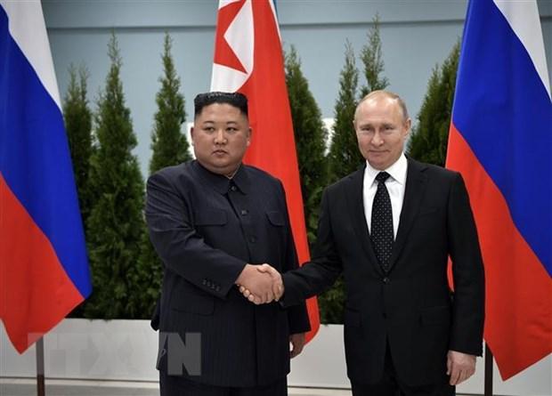 Thuong dinh Nga-Trieu: Hai nha lanh dao danh gia cao ket qua hoi dam hinh anh 1