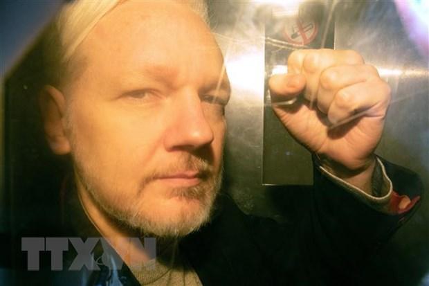 Ong Julian Assange tuyen bo khong muon bi dan do ve My hinh anh 1