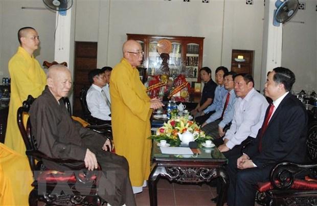 Chu tich Mat tran To quoc chuc mung Le Phat dan tai tinh Quang Tri hinh anh 1