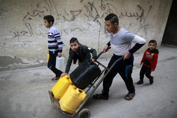 Nguoi Palestine duoc Qatar cam ket vien tro 480 trieu USD hinh anh 1