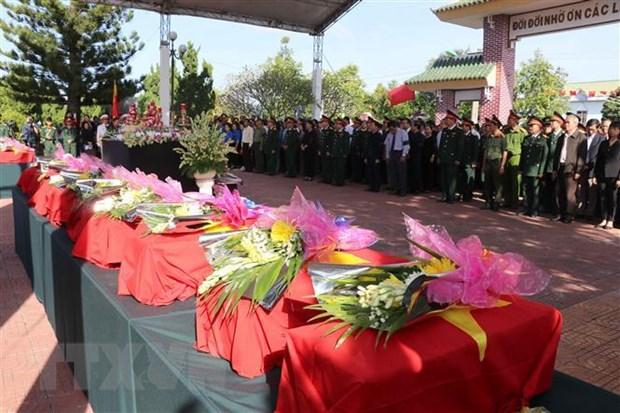 Truy dieu hai cot quan tinh nguyen Viet Nam hy sinh tai Campuchia hinh anh 1