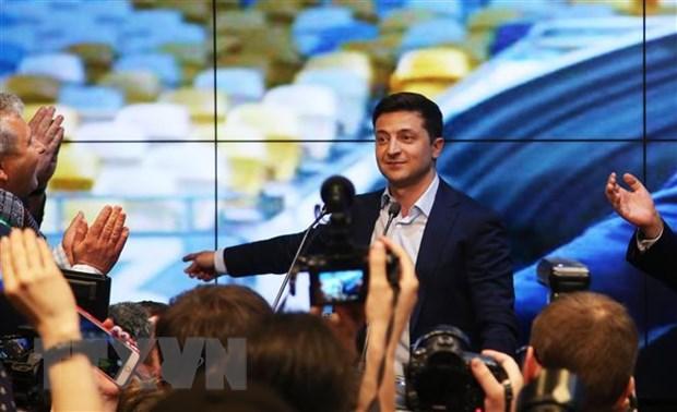 Ukraine: Lien minh cam quyen trong Quoc hoi giai tan hinh anh 1